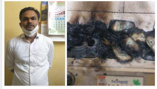 तो इस वजह से तहसीलदार ने जला दिए 20 लाख रुपए